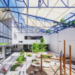 Project: Dulwich Hill Childcare centre. An old Sydney warehouse converted into an incredible childcare centre that has the perfect combination of function & aesthetics.